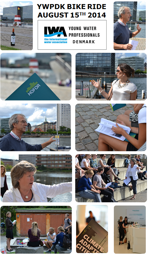 Captions from our YWPDK bike ride through inner Copenhagen 2014